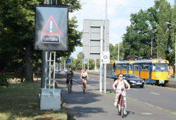 Der Unfallschwerpunkt Cottaweg / Jahnallee. Foto: Ralf Julke