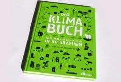 Esther Gonstalla: Das Klimabuch. Foto: Ralf Julke