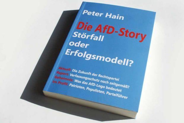 Peter Hain: Die AfD-Story. Foto: Ralf Julke
