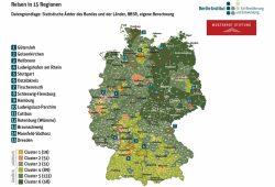 Die Cluster-Karte des Berlin-Instituts. Karte: Berlin-Institut, Teilhabeatlas