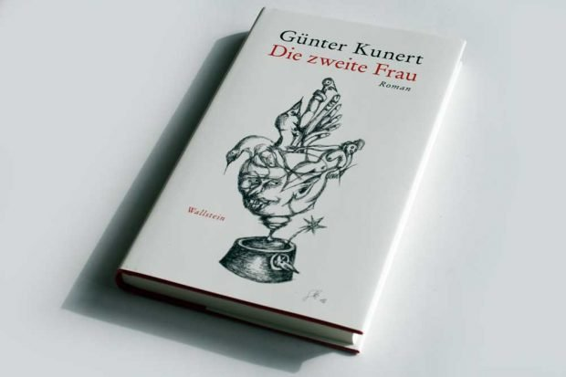 Günter Kunert: Die zweite Frau. Foto: Ralf Julke