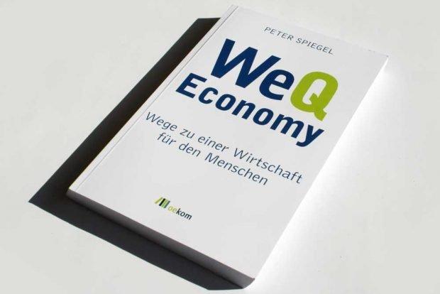 Peter Spiegel: WeQ Economy. Foto: Ralf Julke