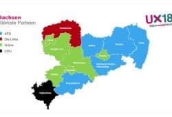 Die jeweiligen Gewinner der U18-Wahl in den Landkreisen. Grafik: Stadtjugendring Leipzig