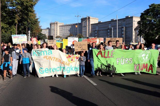 Alle fürs Klima wird immer konkreter. Nun folgt die erste Klimawoche. Foto: L-IZ.de