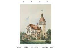 Titelblatt mit Schaubild der Villa Rothermundt in Blasewitz von Karl Emil Scherz,1897.Quelle: LfD