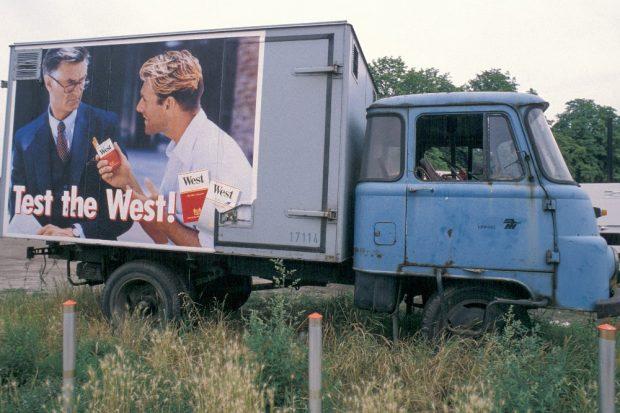 Bei Leipzig, 1991 © Daniel Biskup