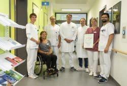 """Der Bereich Infektions- und Tropenmedizin am Universitätsklinikum Leipzig wurde erfolgreich als """"Zentrum für Infektiologie"""" zertifiziert. Foto: Stefan Straube / UKL"""