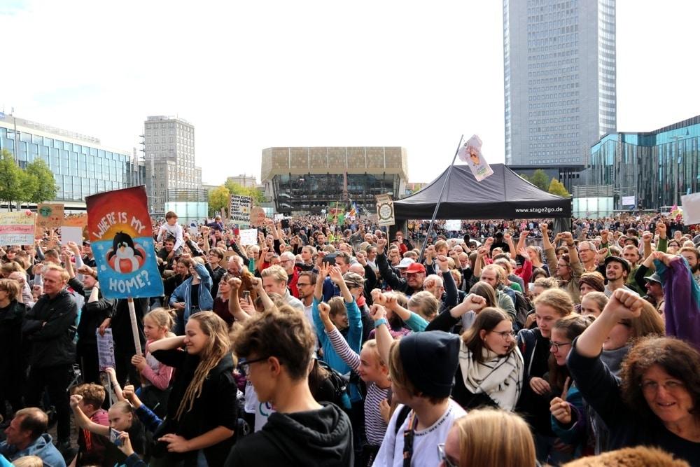 Der Klimastreik in Leipzig zeigte am 20. September, dass sich immer mehr Menschen der Klimafrage stellen. Foto: L-IZ.de