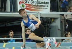 Niklas Uth ist aktuell eines der erfogreichsten Lindenauer Leichtathletik-Talente. Foto: Jan Kaefer