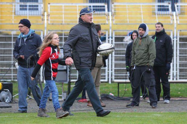 Wird der einstige DDR-Rugby-Nationaltrainer Gerhard Schubert beim Veteranenturnier auch auf dem Platz stehen? Foto: Jan Kaefer