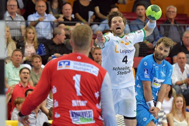 Patrick Wiesmach im letzten Duell gegen Stuttgart © Rainer Justen