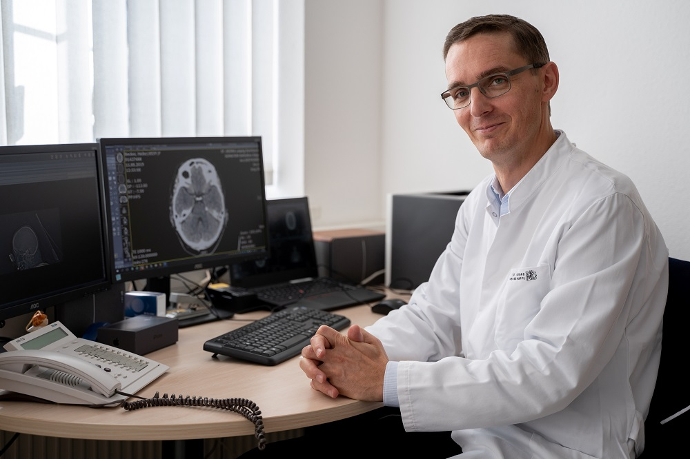 Dr. Torsten Kraya, Chefarzt der Klinik für Neurologie, Foto: KSG