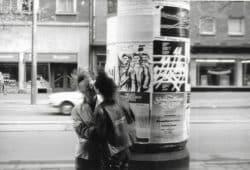 Punks in Leipzig mitte der Achtziger Jahre © Cornelia Martinez Labrada