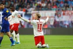 Forsberg hatte trotz eines Tores wenig Grund zur Freude. Foto: Gepa Pictures