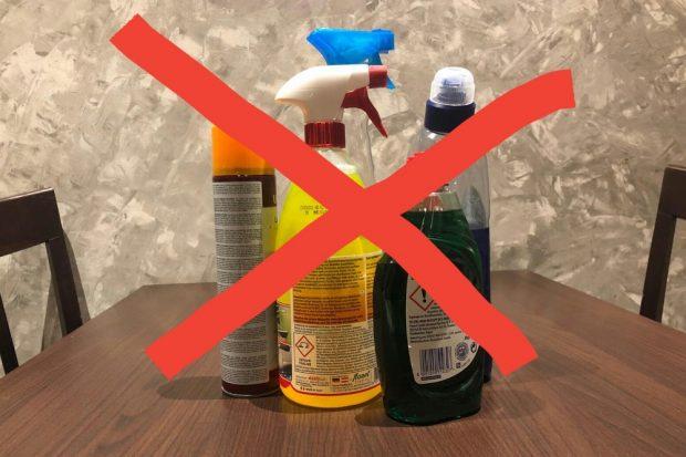 Reinigungsmittel kann man auch ganz einfach umweltfreundlich selber herstellen. Foto: L-IZ.de