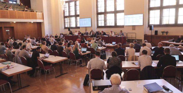Hier soll sich ab 16 Uhr der neue Stadtrat konstituieren. Foto.: L-IZ.de