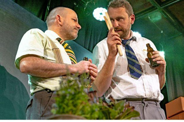 Thorsten Giese, Martin Kreusch. Foto: Armin Zarbock