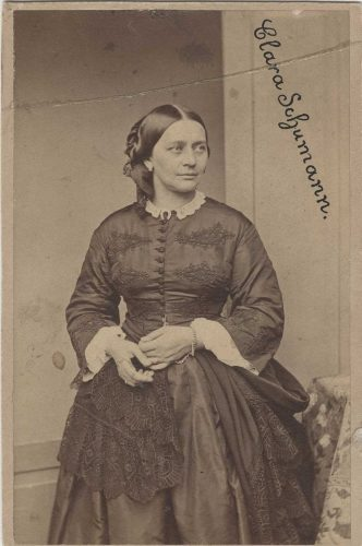 Fotografie von Clara Schumann um 1870. Foto: