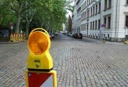 Die Kreuzung Floßplatz / Hohe Straße. Foto: Ralf Julke