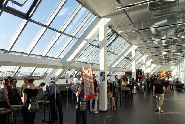Im Foyer des neuen LOFFT. Foto: Tom Dachs
