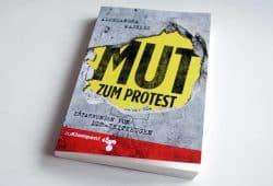 Aleksandra Majzlic: Mut zum Protest. Foto: Ralf Julke