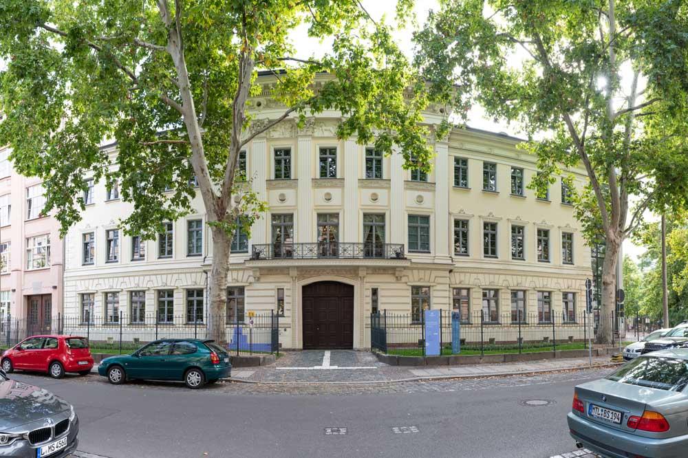 Das Schumann-Haus in der Inselstraße. Foto: Christian Kern