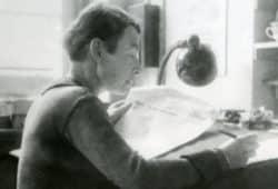 sf als Korrektorin, um 1940. © Archiv Museum Göschenhaus