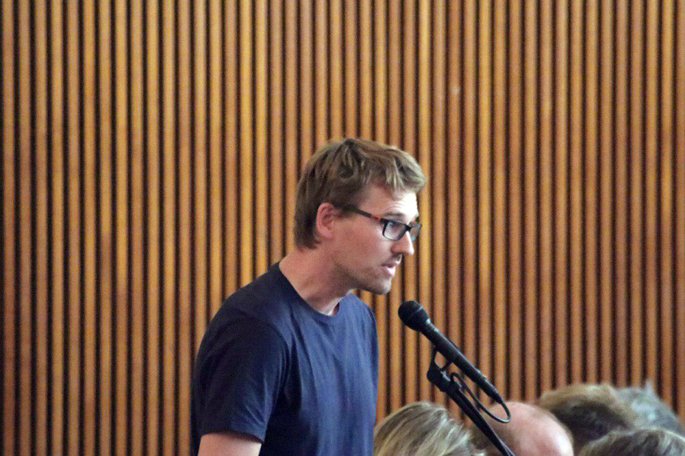 Adam Bednarsky (Die Linke). Foto: LZ