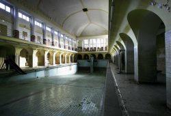 Die alte Männerschwimmhalle im Stadtbad. Foto: Gernot Zwanzig