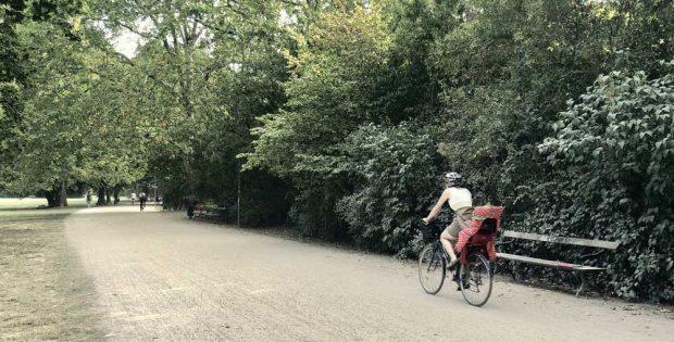 Staubpiste im Johannapark. Foto: Andreas Blechschmidt