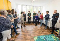 Eröffnung des Studentischen Familienzentrum. Foto: Swen Reichhold