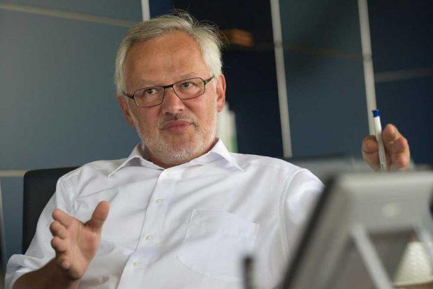 Prof. Dr. Georg Teutsch. Foto: UFZ / André Künzelmann