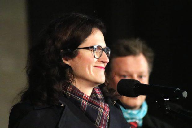 Aleksandra Dulkiewicz (Oberbürgermeisterin von Danzig). Foto: L-IZ.de