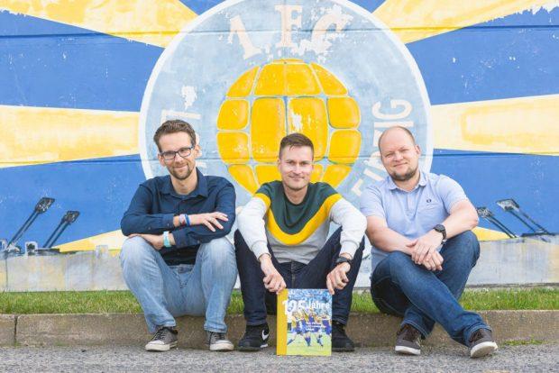 Die Autoren und Herausgeber (v.l.n.r.): Marko Hofmann, Thomas Franke, Matthias Löffler. Foto: Swen Reichhold