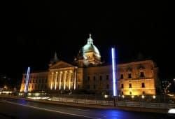 Leipziger Ort der Demokratie: Bundesverwaltungsgericht. Foto: Michael Freitag