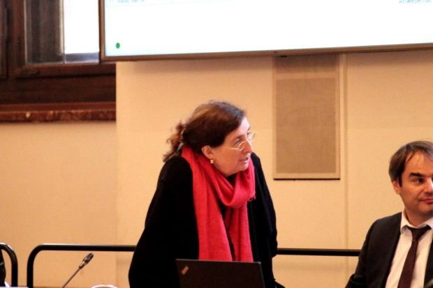 Baudezernentin Dorothee Dubrau (parteilos) im Stadtrat gefragt. Foto: Michael Freitag
