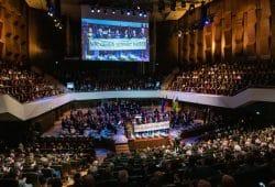 Festakt im Gewandhaus Leipzig. Foto: Jens Schlueter/Stadt Leipzig