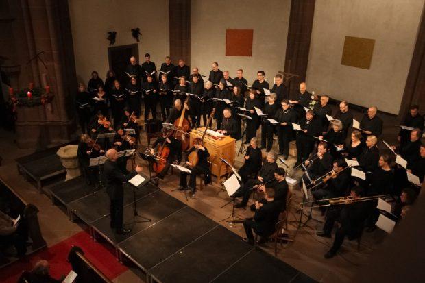 Kurt-Thomas-Kammerchor. Quelle: Büro für Kirchenmusik