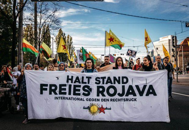 Familien, Kinder, Menschen. Die Kurden und ihr Traum von Rojava in Leipzig. Foto: Tobias Möritz