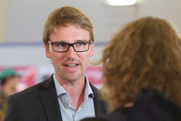 Adam Bednarsky ist RSL-Mitbegründer und LINKE-Stadtrat. Foto: Jan Kaefer