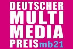 Logo Deutscher Multimediapreis