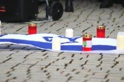 Gedenken in Leipzig am 10. Oktober 2019. Foto: Michael Freitag