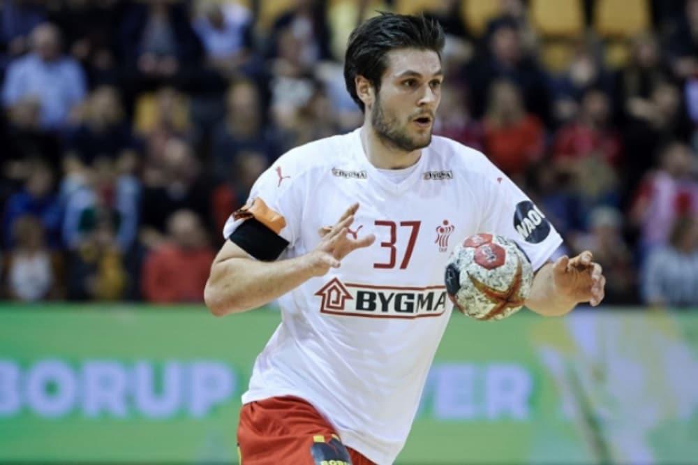 Martin Larsen im Trikot der dänischen Nationalmannschaft. Quelle: Dansk Håndbold Forbund