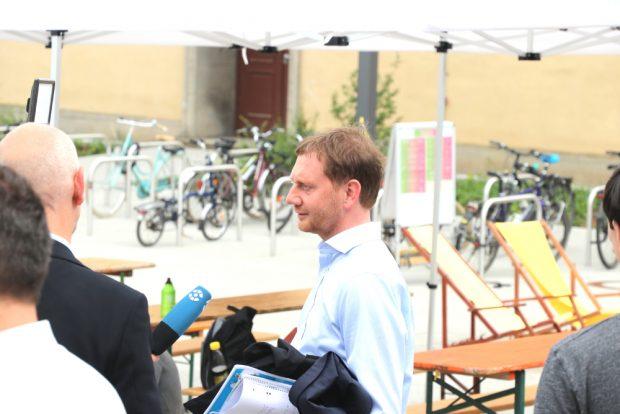 Ministerpräsident Michael Kretschmer (CDU). Foto (Archiv): Michael Freitag
