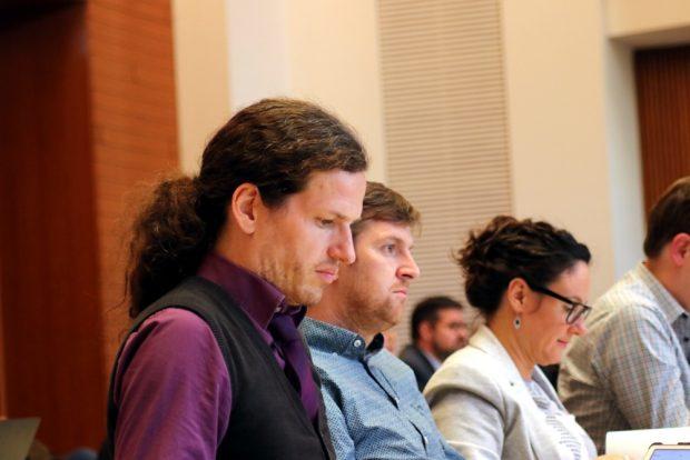 Jürgen Kasek (B90/Die Grünen) mit klarer Aussage zur ZUkunft der jungen Menschen. Foto: Michael Freitag