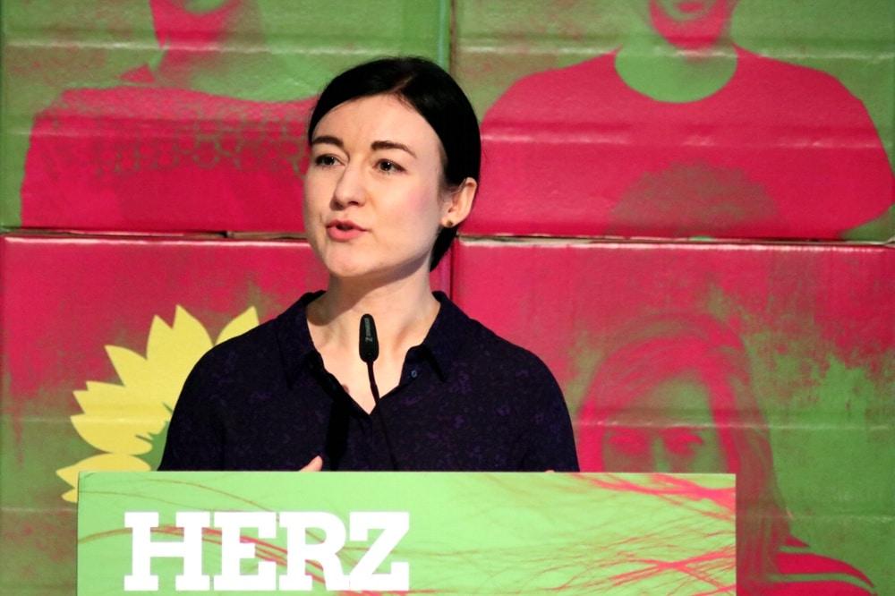 Paula Piechotta B90/Die Grünen Leipzig wird die Spitzenkandidatin für Leipzig Süd zur Bundestagswahl. Foto: LZ