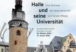Plakat zur Ausstellung. Foto: Torsten Milarg / Universität Halle