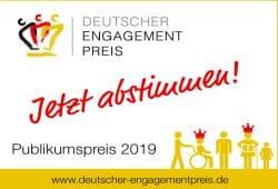 Publikumspreis 2019. Quelle: Deutscher Engagementpreis