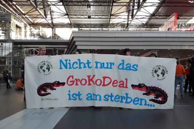 Protest von Fridays for Future. Foto: René Loch