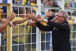 Rainer Lisiewicz feierte am Derby-Tag seinen 70. Geburtstag. Foto: Jan Kaefer (Archiv)